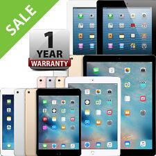 iPad   Air,mini,2,3,4,Pro   WiFi   16GB 32GB 64GB 128GB 256GB   Warranty Incld