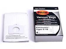 Panaosnic Style C18 C-18 Cloth HEPA Allergen Vacuum Cleaner Bags AMC-J3EP, 859