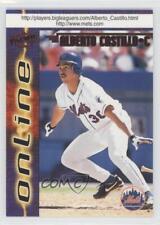 1998 Pacific Online Red #473 Alberto Castillo New York Mets Baseball Card
