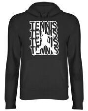 Cool Tennis Mens Womens Ladies Hooded Top Hoodie
