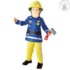 Kinder Kostüm Feuerwehrmann Sam - 3610901 - Fireman Sam Deluxe, Child * 2 - 7 J.