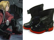 Fullmetal Alchemist Edward Elric Cosplay Shoes Schuhe scarpa Kostüm chaussure