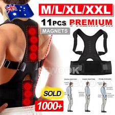 Posture Corrector Clavicle Shoulder Brace Lower Back Support Magnetic Men Women