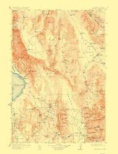 Topographical Map - Ballarat Nevada, California Quad - USGS 1913 - 17 x 22.31