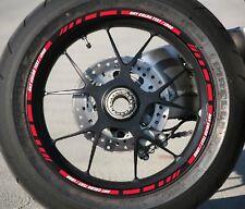 CUSTOM MOTORCYCLE CAR SPORTBIK RIM STRIPES WHEEL DECAL TAPE STICKER FITS 17 RIMS