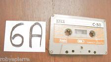 MC Musicassetta Cassetta Audio Cassette KUMHO C30 C 30 compact rarissima