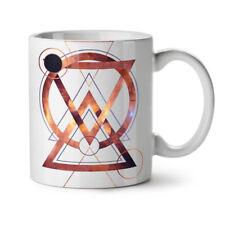 Geometric Art Fashion NEW White Tea Coffee Mug 11 oz   Wellcoda