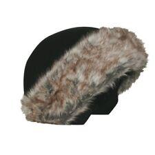 Brown Fur Coolcasc Helmet Cover Stretch Fit Ski Snowboard Skate Best Gift Idea