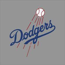 Los Angeles Dodgers MLB Team Logo Vinyl Decal Sticker Car Window Wall Cornhole