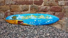 SU 130 R8 Deko Surfboard 130 cm Surfbrett aus Holz Retro Board surfen vintage