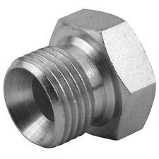 """HYDRAULIC mâle bsp plug avec 60 ° cône 1/8"""" à 1.1/2"""" adaptateur pour pompe valve ram"""