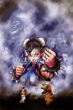 RGC Huge Poster - Ultra Street Fighter IV PS4 PS3 III II V Super Arcade - STR001