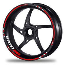 FELGENRANDAUFKLEBER passend für Honda CBR 1000RR Felgenaufkleber Moto GP Style 4