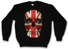 United Kingdom skull Flag sweat-shirt union jack ANGLETERRE uk MOD sweat pull