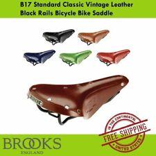 Brooks B17 Standard Classic Vintage Leather  Black Rails Bicycle Bike Saddle