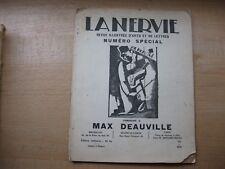 La Nervie Numero Special 1931 Max Deauville Belgian Literary Magazine