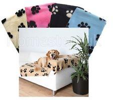 PET PAW LETTO COPERTA morbida calda in pile da viaggio auto CESTO tappetino per cane cucciolo animale