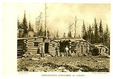 """Document Ancien """" Exploitation Forestière au Canada - Cl Canadian P  (classeur)"""