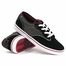 Globe Skateboard Shoes Motley Black/Dark Red