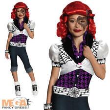 Operetta Girls Fancy Dress Monster High Phantom Halloween Kids Costume Outfit