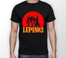 Lupin The 3 Arsene Lupin III Anime Manga Unisex Tshirt T-Shirt Tee ALL SIZES