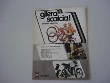 advertising Pubblicità 1974 GILERA 124 5V REGOL. CASA