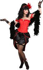 Korsage Burlesque rot NEU - Zubehör Accessoire Karneval Fasching