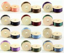 Beadsmith 1 PEZZI NYMO Nylon BOBINE FILO Stringing materiale * Molti Colori