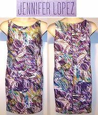 NEW $60 Tag JLO Jennifer Lopez DRESS  Large,  X Large  POLYNESIAN ISLANDS Floral