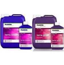 Plagron Terra Bloom & Grow Base Nutrient Feed Soil Veg/Flowering Feed 1L/5L/10L