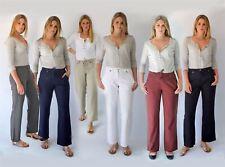 NEXT Wide Leg Casual Linen Trousers | SALE | Was £26