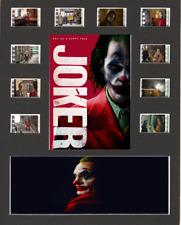 Joker (2019) replica Film Cell Presentation 10x8 Mounted 10 cells