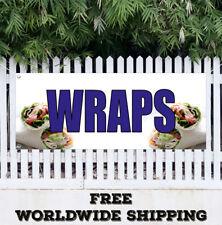 Banner Vinyl WRAPS Advertising Flag Sign Breakfast Dinner Lunch Sandwich Chicken