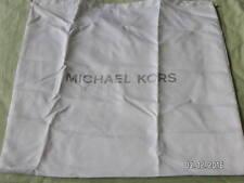 Michael Kors Drawstring Dust Protect Bag for Handbags White Differ't Sizes NEW