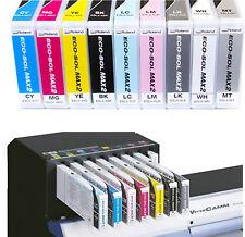 Roland eco sol max 2 encre 440ml dans toutes les couleurs original free p&p avec facture de tva