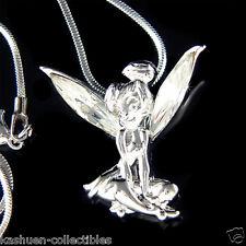 w Swarovski Crystal ~Tinker Bell~~ Fairy Tinkerbell ANGEL Charm Pendant Necklace