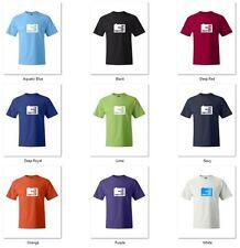 I'M HUGE ON TWITTER logo funny T-shirts S-5XL