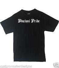 Bhutani Pride Shirt Country Pride T shirt Different Print Colors Inside