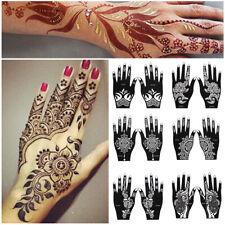 corporel tatouage pochoirs vignette temporaire de main vignette henné modèle