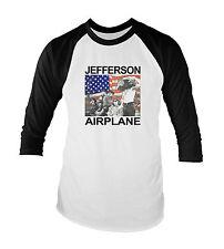 Jefferson Airplane Psychadelic Acid Rock 60's Unisex Baseball T-Shirt All Sizes