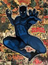 Black Panther Wakanda Africa Marvel Comic Book Superhero Tribute Fine Art Canvas