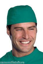 Copricapo a Bandana Tinta Unita Verde Chirurgo per Settore Chirurgico Medicale