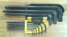 Stanley 9 Piece Metric Long Arm Ball Point Hex Allen Key Set