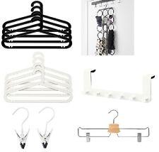 Wardrobe Plastic Hanger Cloth Hanger Over Door Hook Garments Indoor Outdoor Use