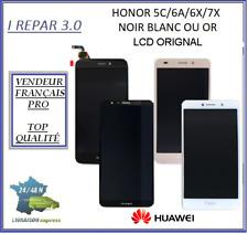 Ecran complet Original Huawei Honor 5C/6A/6X/6/7A/7X/7S/7/8X/10  Noir Blanc  Or