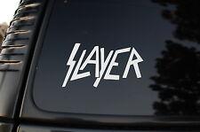 Slayer Sticker Vinyl Die Cut Bumper Window Decal (V38)
