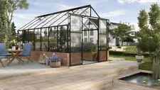 Vitavia Gewächshaus CASSANDRA 9900 - 11500 GLAS ESG 3mm schwarz