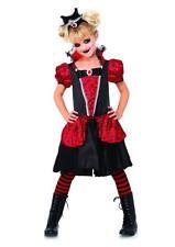 Vampire Queen Gothic Girl Dracula Fancy Dress Up Halloween Child Costume