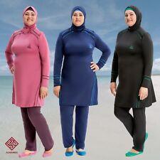 AlHamra AL8232 Full Cover Modest Burkini Swimwear Swimsuit  4 piece UK 20-26