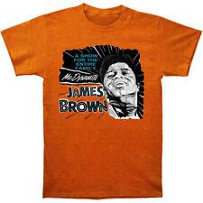 James Brown Men's  Mr. Dynamite Slim Fit T-shirt Heather